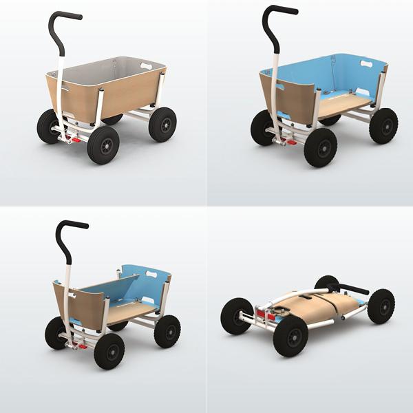 Strand Buggy Kinderwagen