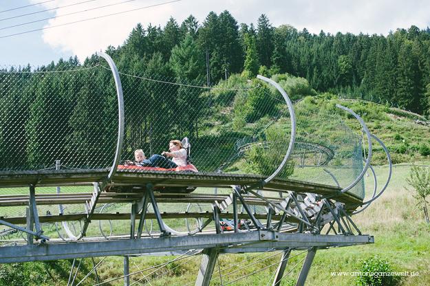 Gutach im Schwarzwald Sommerrodelbahn Vogstbauernhöfe Antons ganze Welt2
