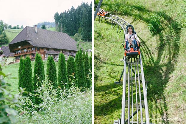 Gutach im Schwarzwald Sommerrodelbahn Vogstbauernhöfe Antons ganze Welt3