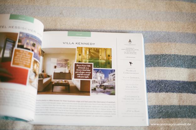 Villa Kennedy Zimmer Frankfurt Hotel14