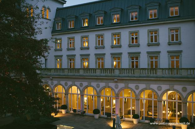 Villa Kennedy Zimmer Frankfurt Hotel9