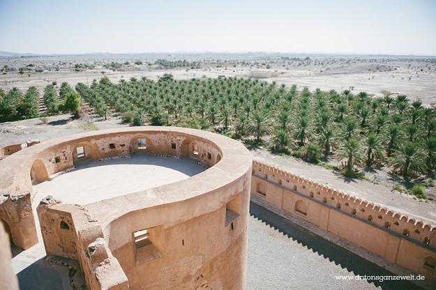 Fort Bahla und Jabreen Castle Oman mit Kindern10