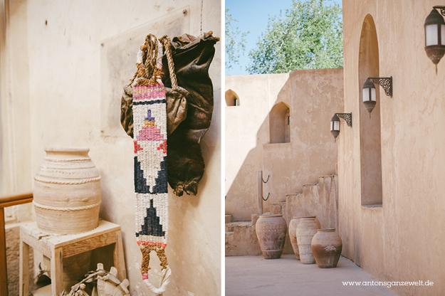 Fort Bahla und Jabreen Castle Oman mit Kindern13