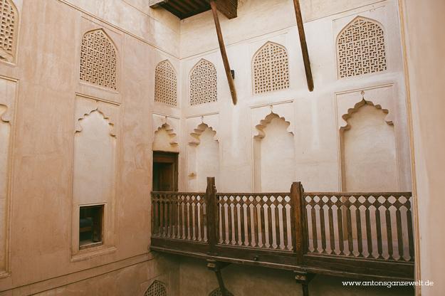 Fort Bahla und Jabreen Castle Oman mit Kindern15