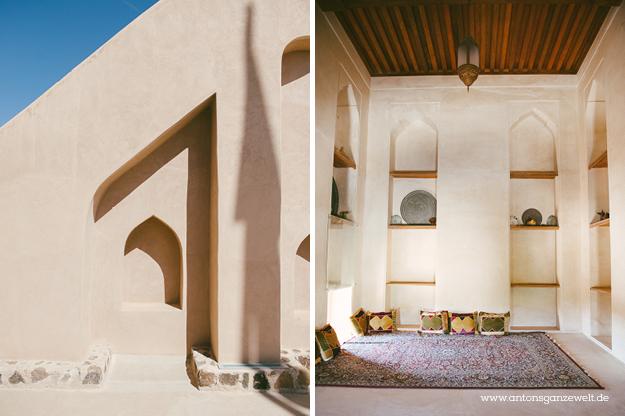 Fort Bahla und Jabreen Castle Oman mit Kindern18