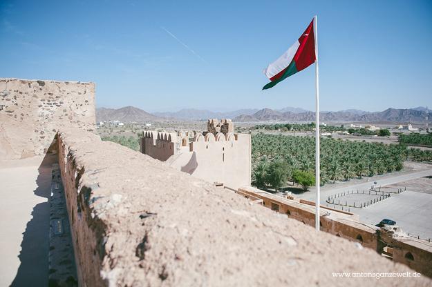 Fort Bahla und Jabreen Castle Oman mit Kindern19