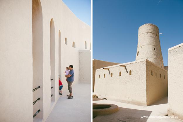 Fort Bahla und Jabreen Castle Oman mit Kindern2