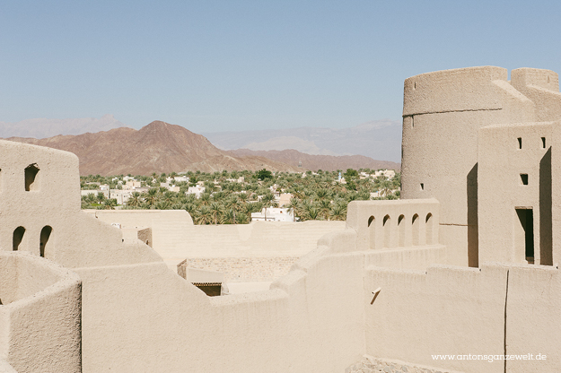 Fort Bahla und Jabreen Castle Oman mit Kindern3