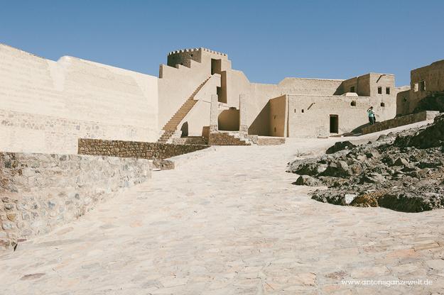 Fort Bahla und Jabreen Castle Oman mit Kindern5