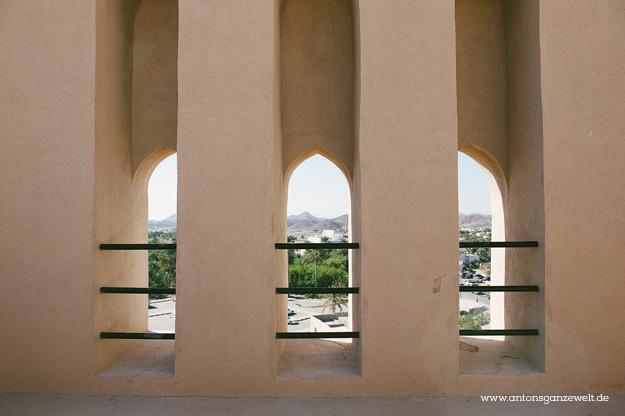 Fort Bahla und Jabreen Castle Oman mit Kindern6