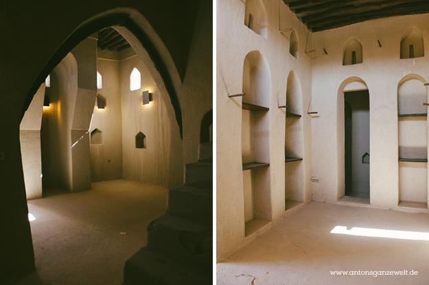 Fort Bahla und Jabreen Castle Oman mit Kindern7