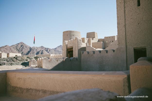 Fort Bahla und Jabreen Castle Oman mit Kindern9