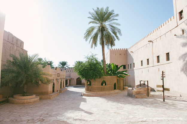 Nizwa Oman Fort Reisetips mit Kindern