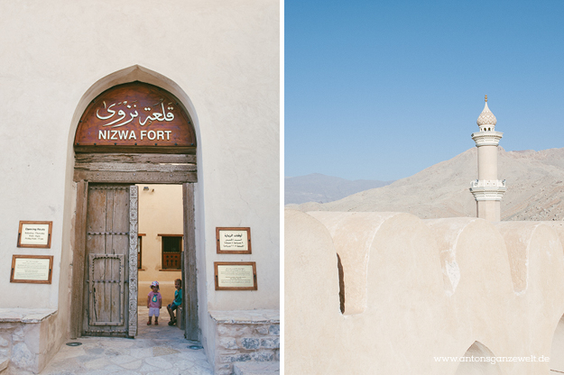 Nizwa Oman Fort Reisetips mit Kindern2