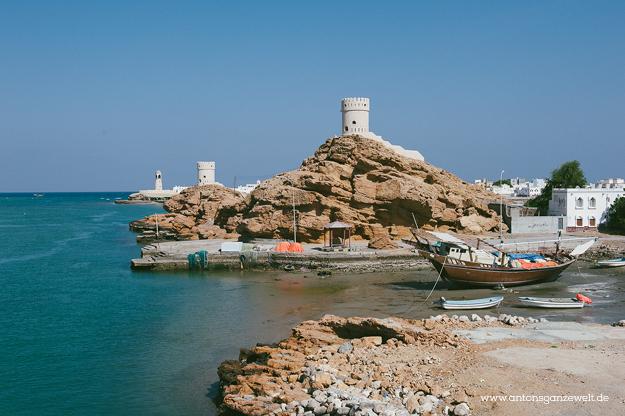Oman Sur Wüste