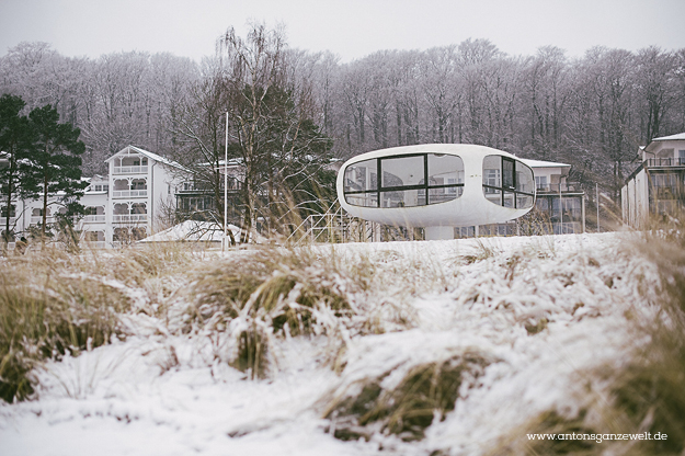 Binz auf Rügen im Winter 11