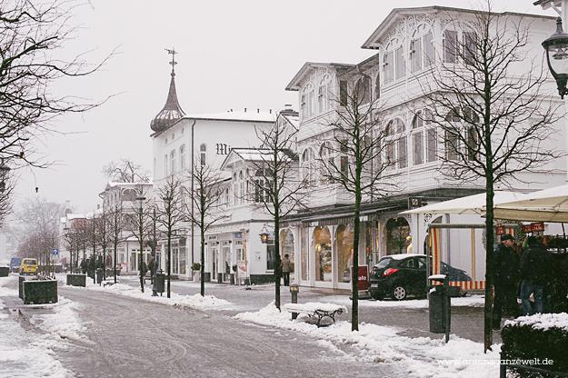 Binz auf Rügen im Winter 12