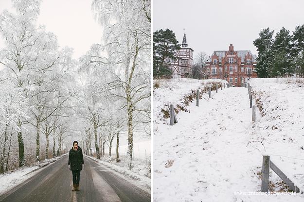 Binz auf Rügen im Winter 2