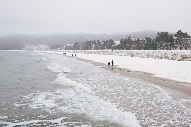 Binz auf Rügen im Winter 7