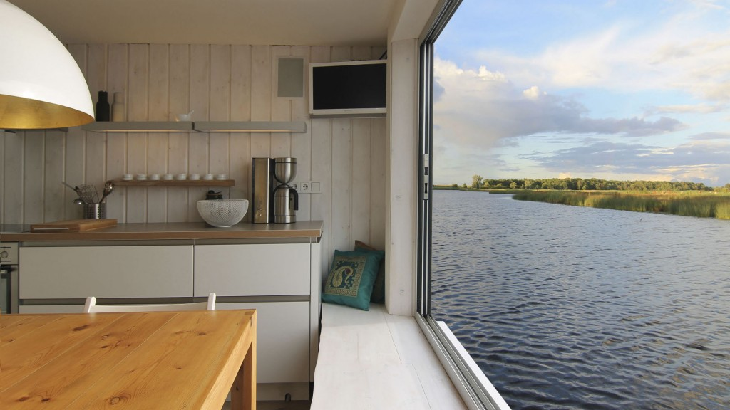 Ferienhaus-Wasserblick-Küche