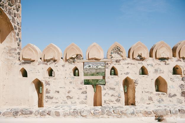 Fort Bahla und Jabreen Castle Oman mit Kindern20