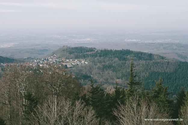Sonntagsausflug auf den Merkur in Baden-Baden2