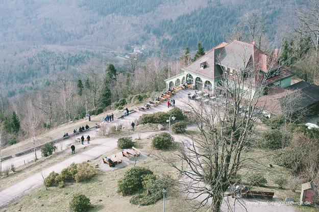 Sonntagsausflug auf den Merkur in Baden-Baden5