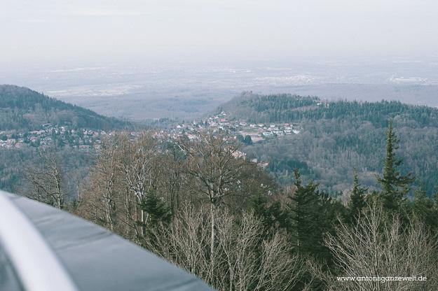 Sonntagsausflug auf den Merkur in Baden-Baden8