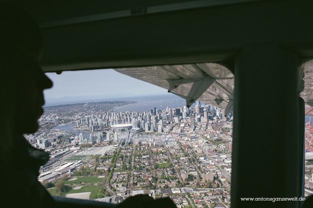 Rundflug mit dem Wasserflugzeug in Vancouver11