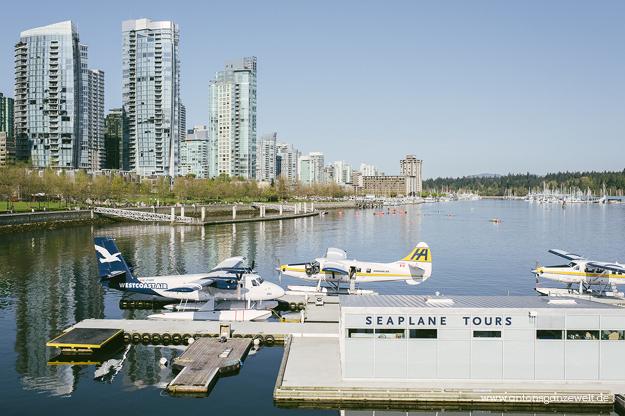 Rundflug mit dem Wasserflugzeug in Vancouver2