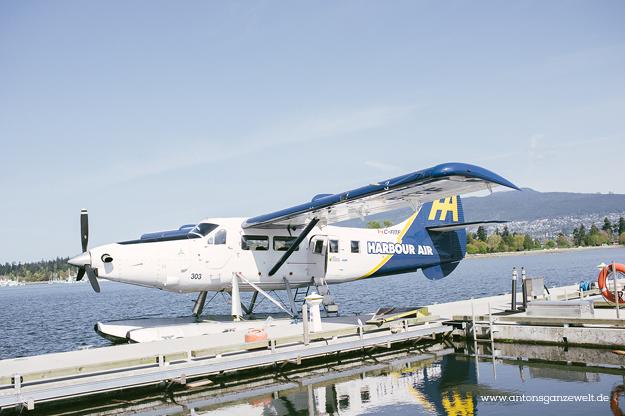 Rundflug mit dem Wasserflugzeug in Vancouver3