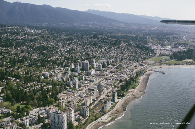 Rundflug mit dem Wasserflugzeug in Vancouver7
