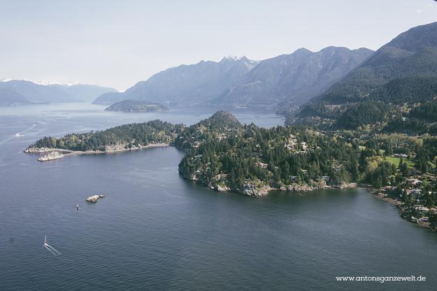 Rundflug mit dem Wasserflugzeug in Vancouver8