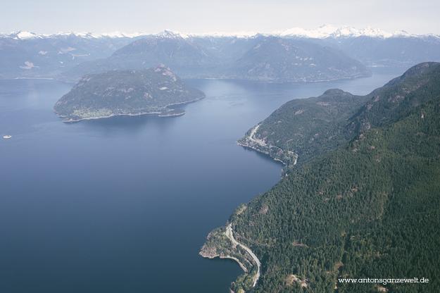 Rundflug mit dem Wasserflugzeug in Vancouver9