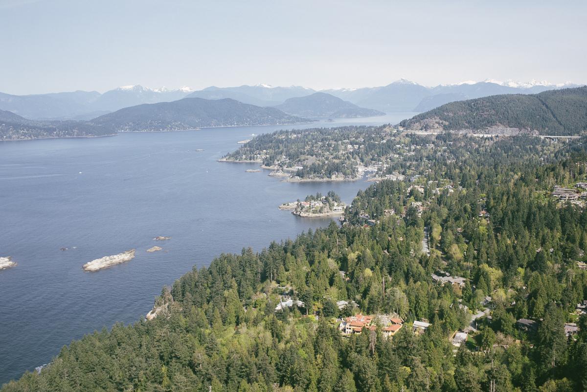 Rundflug mit dem Wasserflugzeug in Vancouver