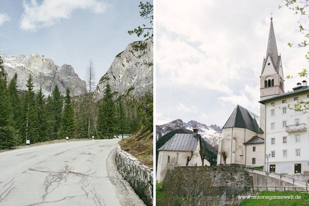 Von Meran nach Cortina d'Ampezzo Grosse Dolomitenstrasse11