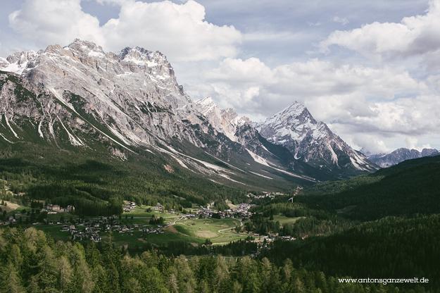 Von Meran nach Cortina d'Ampezzo Grosse Dolomitenstrasse15