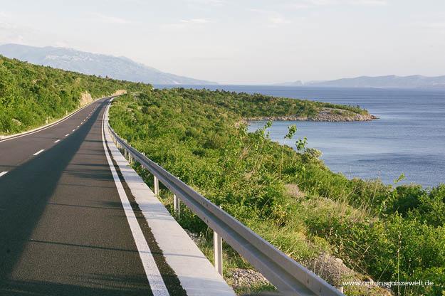 Küstenstraße in Kroatien Senj2