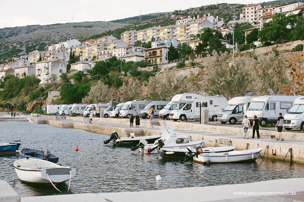 Küstenstraße in Kroatien Senj3