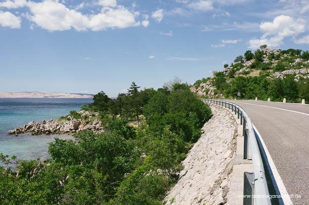 Kroatische Adria Küstenstraße 4