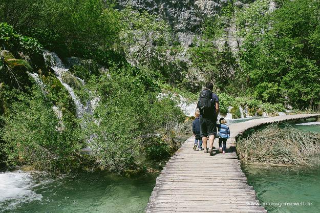Plitvicer Seen in Kroatien mit Kindern9