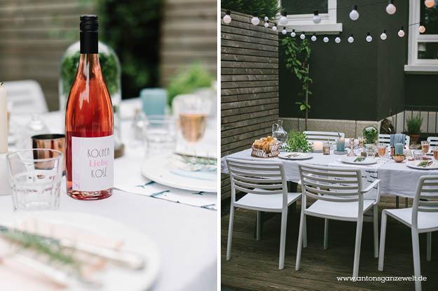 Sommerliches Grillen im Garten rose beton und blau7