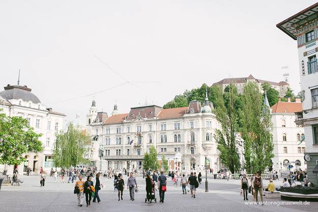 Wochenendtripp Ljubljana Slowenien