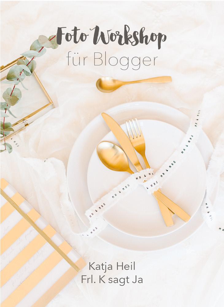 Fotoworkshop für Blogger