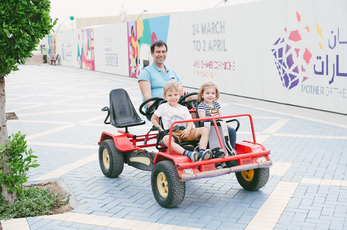 Beach Buggy fahren in Abu Dhabi