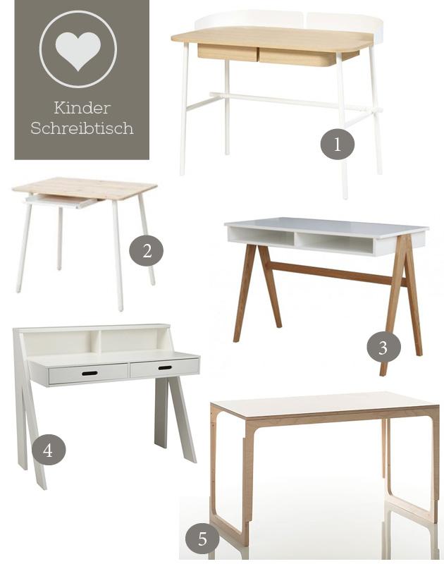Schreibtische Für Kinder Mit Modernem, Skandinavischen Design