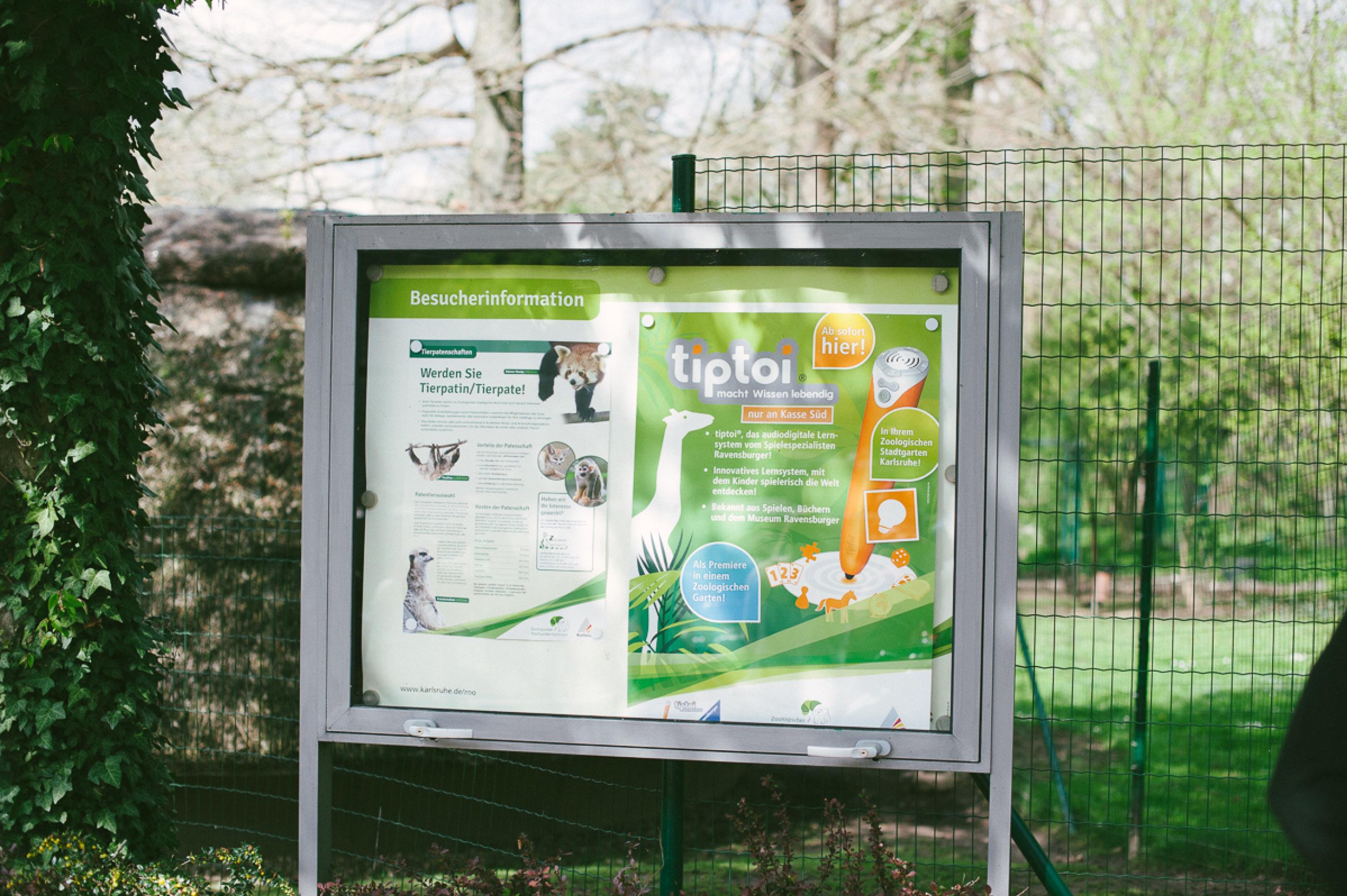 Tiptoi Rally im Zoo Karlsruhe3