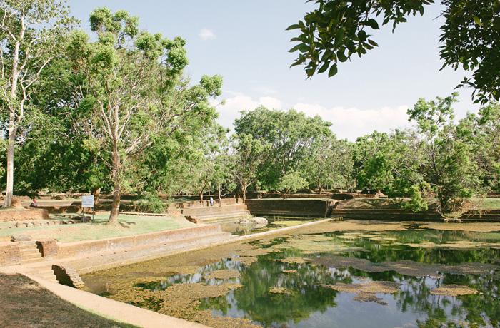 Abstieg Sigiriya Sri Lanka Bild Reiseblog Antonsganzewelt Kinder2