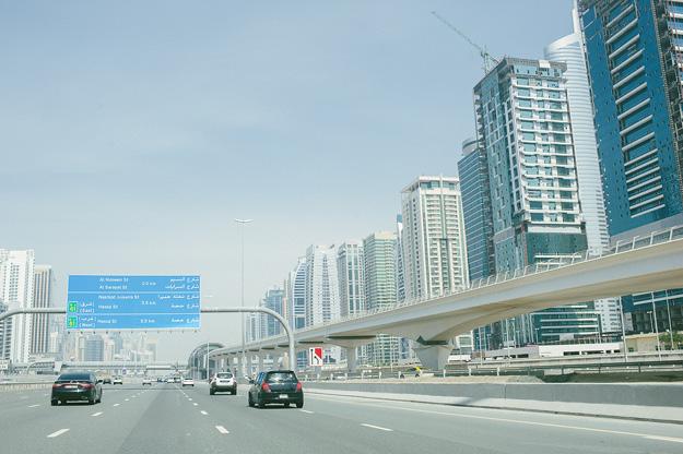 Dubai Mietwagen selbst fahren