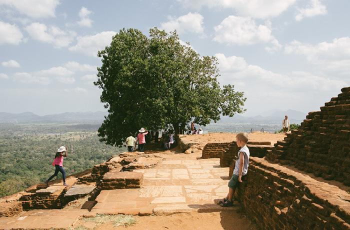 Sigiriya Sri Lanka Bild Reiseblog Antonsganzewelt Kinder12